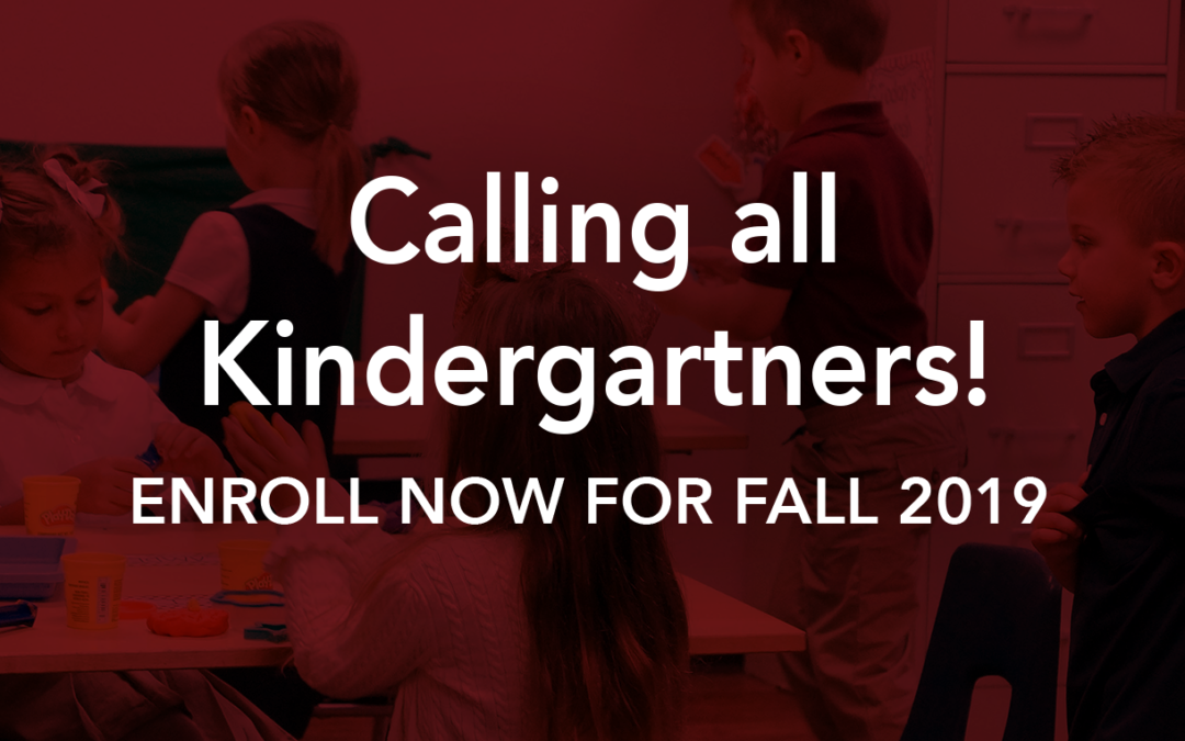 Calling All Kindergartners!