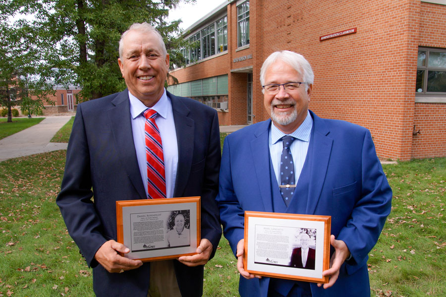 Langseth & Rosenfeldt Inducted into the Oak Grove Hall of Fame