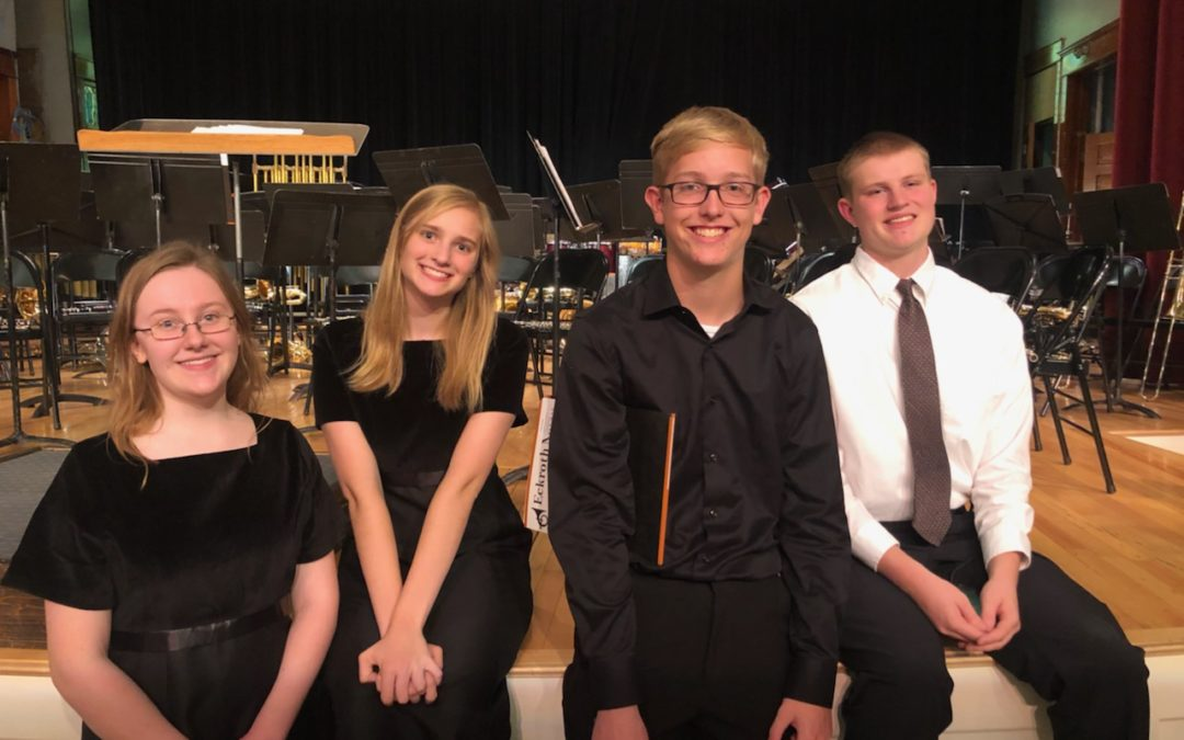 Oak Grove Students Selected to 2019 Ployhar Honor Band