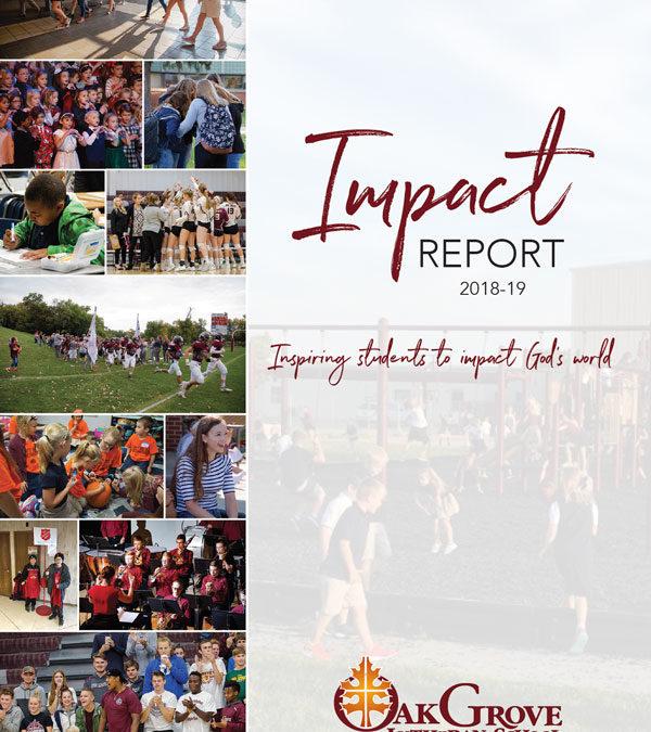 2018-19 Oak Grove Impact Report