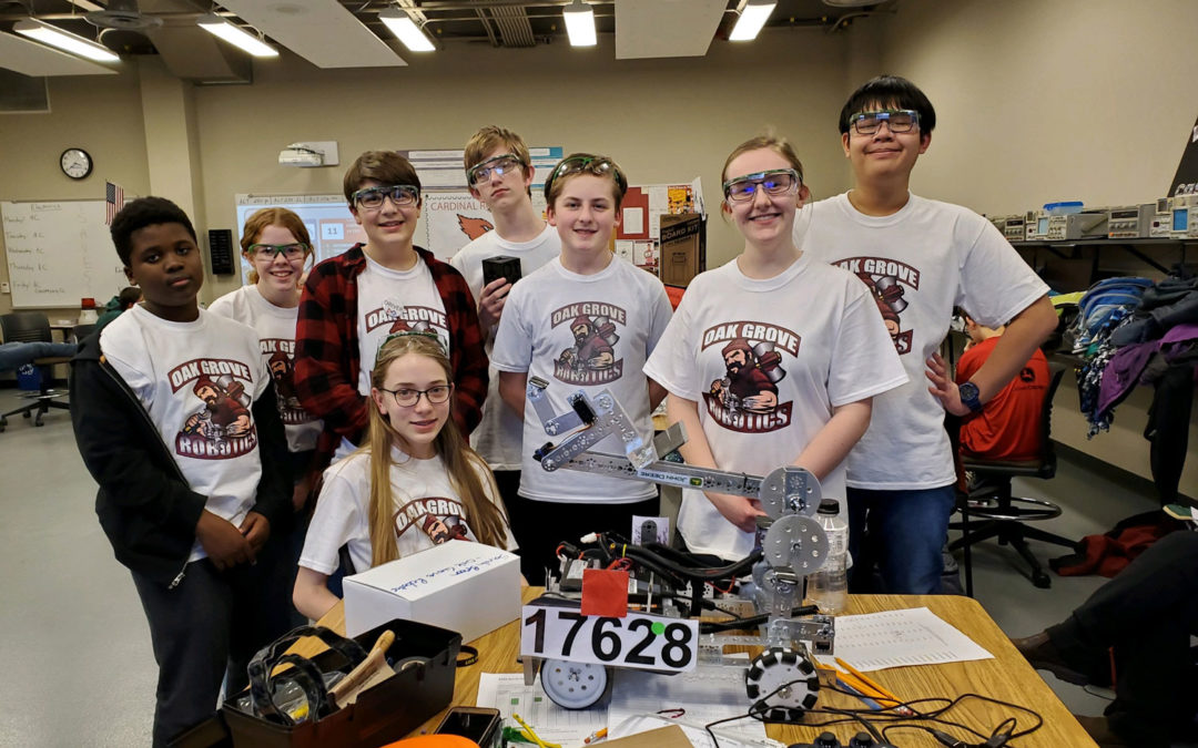 Robotics Team Competes at State