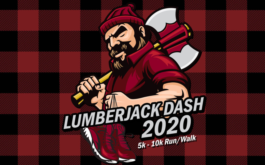 Lumberjack Dash Virtual 5k-10k Run/Walk