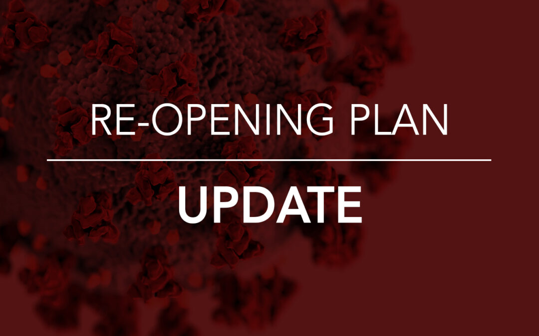 7.24.2020 School Re-Opening Plan Update